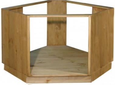 «Pin Magic». Шкаф — стол угловой под плиту ПЛ39