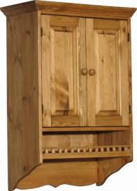 «Pin Magic». Шкаф настенный с балюстрадой ПЛ25-Б