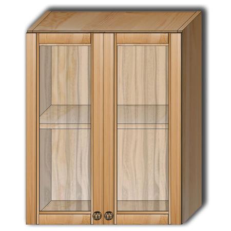 Кухня «Гретта» - Шкаф настенный Шк60 со стеклом