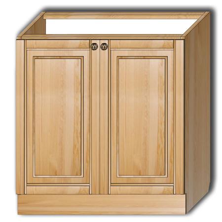 Кухня «Гретта» - Стол рабочий Т80 под мойку