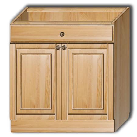 Кухня «Гретта» - Стол рабочий Т80 с 1 ящ.