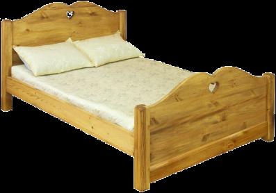 «Pin Magic». Кровать двуспальная LCOEUR 140