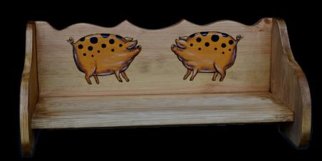 «Pin Magic». Полка 60 «Свинки пятнистые»