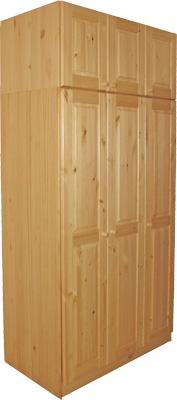Шкаф Орион 3 комбинированный с антресолью