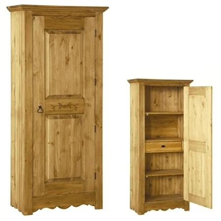 Шкаф для белья Bo 194 (с резьбой на двери)