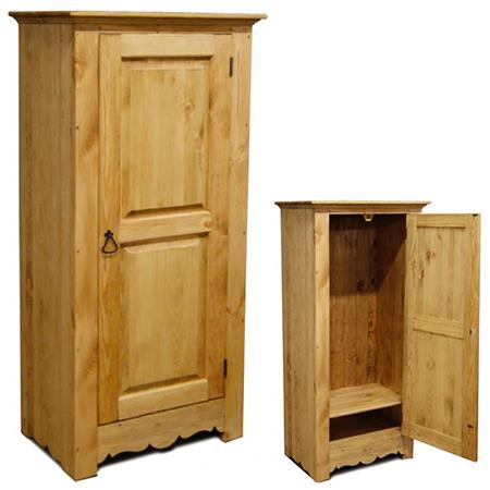 Шкаф для белья Марго (с вешалкой)