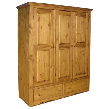 Шкаф для одежды Armoir (3 двери, 2 ящика)
