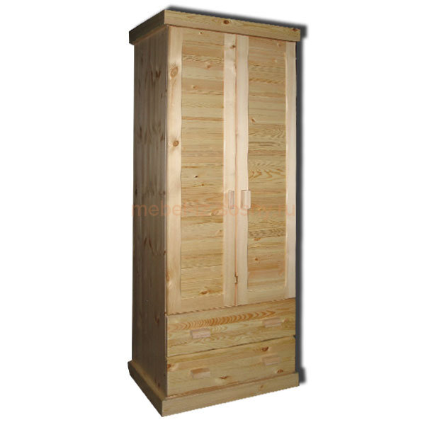 Шкаф Скандинавия 2-дверный с ящиками