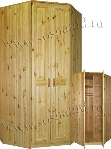 Шкаф-угловой Герман1020*1020(новый)
