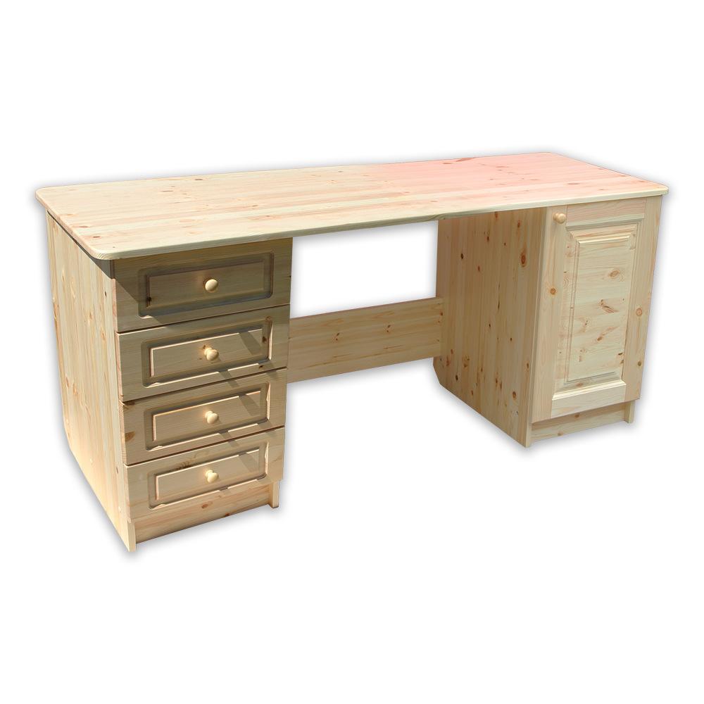 Стол письменный длина 1600 2-тумб.*450 дверь-4-ящик