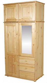 Шкаф для одежды МД-332М