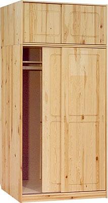Шкаф-купе 2-х дверный с антресолью МД-184