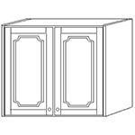 Шкаф навесной 80 выс 71см