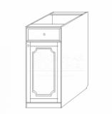 тумба 30 ящик-дверь