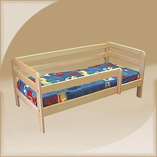 Кровать Юни с ограждением