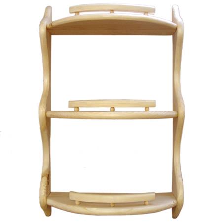 Полка прямая 3-ая (без балясин) (42 см)