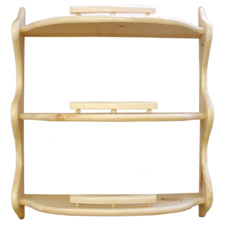 Полка прямая 3-ая (без балясин) (60 см)