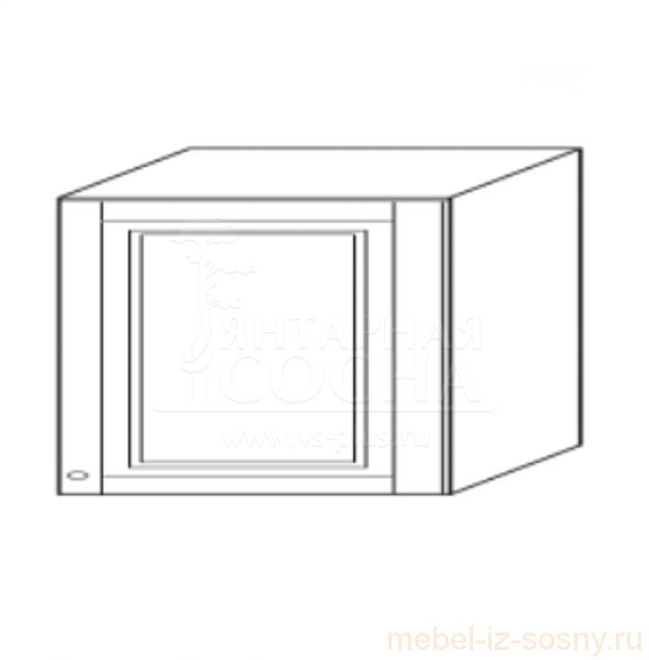 Шкаф над вытяжкой 50 х 45