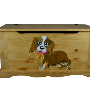 Сундук собака без фона